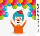circus show design | Shutterstock .eps vector #499958407