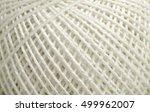 threads close up texture  ... | Shutterstock . vector #499962007