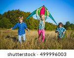 Group Of Happy And Smiling Kid...