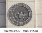 Small photo of WASHINGTON, DC - SEPTEMBER 10: Securities and Exchange Commission in Washington, DC on September 10, 2016.