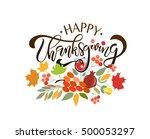 Hand Drawn Happy Thanksgiving...