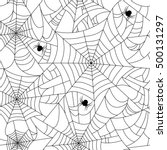 Halloween Spider Web Seamless...