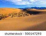 Mesquite Flat Sand Dunes In...