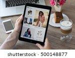 alushta  russia   october 9 ... | Shutterstock . vector #500148877