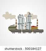 oil industry | Shutterstock .eps vector #500184127