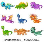 vector illustration of set of... | Shutterstock .eps vector #500200063