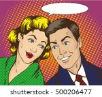 vector illustration in pop art...   Shutterstock .eps vector #500206477