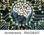 machine learning and artificial ...   Shutterstock . vector #500228107