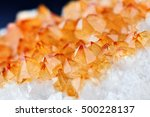 single shot of citrine stone... | Shutterstock . vector #500228137