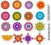 easy to edit vector... | Shutterstock .eps vector #500289097