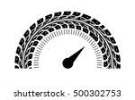speedometer vector illustration.... | Shutterstock .eps vector #500302753