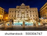 Nobody At Famous Fontana Di...