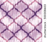 seamless moroccan ikat pattern | Shutterstock .eps vector #500308603