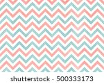 watercolor light pink and blue... | Shutterstock . vector #500333173