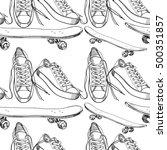 vector illustration of sport... | Shutterstock .eps vector #500351857