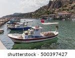 behramkale assos  turkey  ... | Shutterstock . vector #500397427