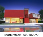 realistic 3d  rendering of a... | Shutterstock . vector #500409097
