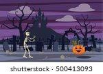 background in computer... | Shutterstock .eps vector #500413093