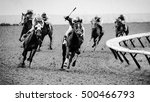 Stock photo powerful horses 500466793