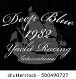nautical design   sailor vector ... | Shutterstock .eps vector #500490727
