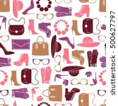 vector pattern of fashion