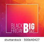 abstract vector layout... | Shutterstock .eps vector #500640427