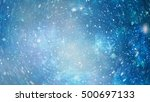 beautiful space background with ... | Shutterstock . vector #500697133
