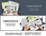 stock illustration. people in... | Shutterstock .eps vector #500713063