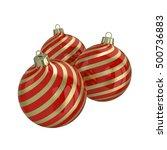 vintage red decorative...   Shutterstock . vector #500736883