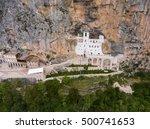 The Upper Ostrog Monastery...