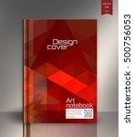 cover design.  | Shutterstock .eps vector #500756053