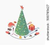 Christmas  Vector Isometric...