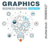 Business Graphics Of Modern...