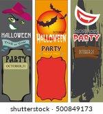 halloween  | Shutterstock .eps vector #500849173