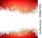 Christmas Snowflake With Night...