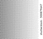 halftone dots gradient in... | Shutterstock .eps vector #500879647