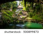 cenote zaci   valladolid  mexico | Shutterstock . vector #500899873