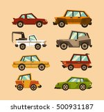 collection cars. a set of...