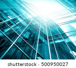panoramic and perspective wide... | Shutterstock . vector #500950027
