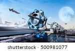 3d rendering scifi fantasy...   Shutterstock . vector #500981077