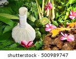 ayurveda herbs | Shutterstock . vector #500989747
