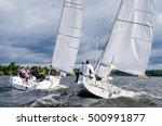 konakovo   april 19   team... | Shutterstock . vector #500991877