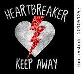 rock slogan graphic for t shirt | Shutterstock . vector #501091297