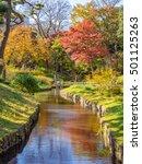 tokyo  japan   dec 3  autumn... | Shutterstock . vector #501125263