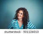 close up shot portrait of... | Shutterstock . vector #501126013