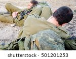 Two Israeli Soldiers Use A...