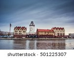 fishing village   ethnographic... | Shutterstock . vector #501225307