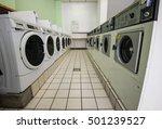 laundry machines in public...   Shutterstock . vector #501239527
