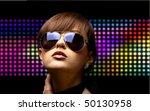 portrait of a beautiful dancing ...   Shutterstock . vector #50130958