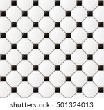 illustration of floor tile... | Shutterstock .eps vector #501324013